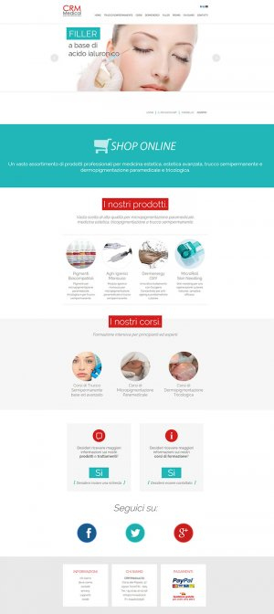 <b>Restyling sito web</b> CRM Medical