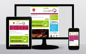 <strong>Web design reattivo</strong> per Umbria for Wine Lovers